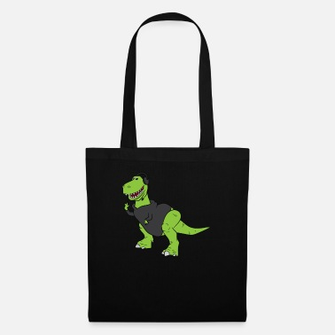 Theatre Stage Manager T-Rex Staff Gift - Tote Bag