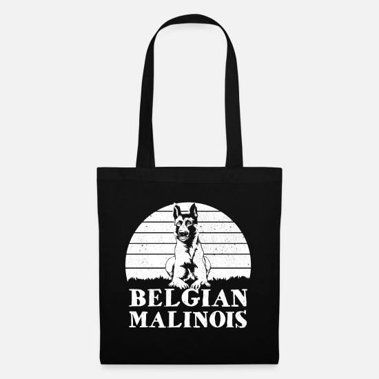 Hardworking Bags & Backpacks - Malinois - Tote Bag black