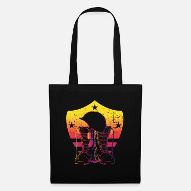 Fatherland Soldier soldier hero protector peace war - Tote Bag