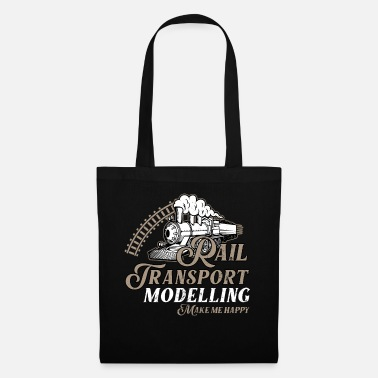 Building Model train, model building - Tote Bag