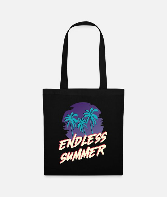 Nightlife Bags & Backpacks - ENDLESS SUMMER - Tote Bag black