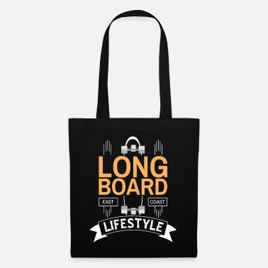 East Coast Lifestyle Longboard East Coast Lifestyle - Tote Bag