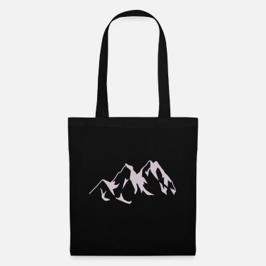 Mountains Mountain mountains mountains nature mountaineers - Tote Bag