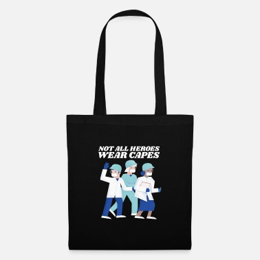 Thank You Corona Virus - Not all Heroes wear capes - Tote Bag