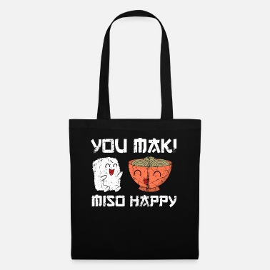Japanese Sign Sushi funny saying you maki miso happy gift - Tote Bag