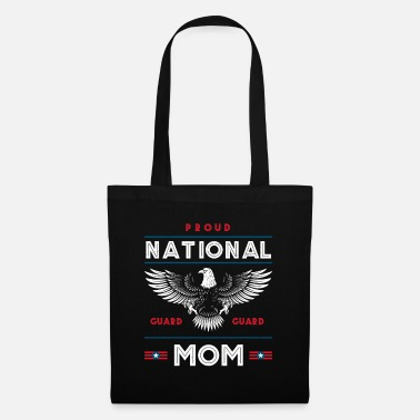 Militair Trotse National Guard Mom Memorial Day Gift - Stoffentas