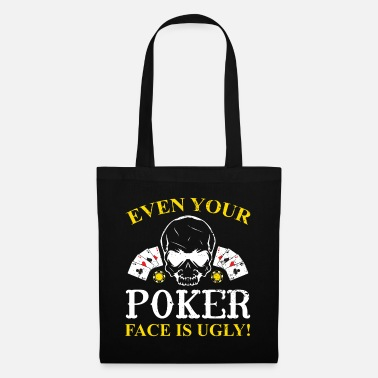 Pik Poker Pokern Pik Ass Pokerface Bluff Chipleader - Stoffbeutel