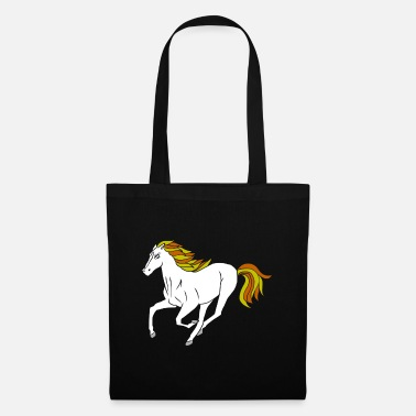 Foal Horse brown colt foal pony stallion cold blood - Tote Bag