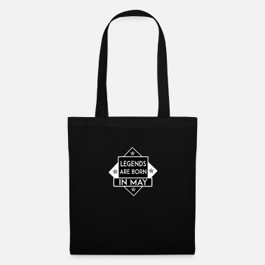 Sir Legends are born in May - Tote Bag