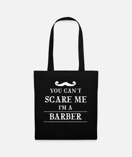 Barber Bags & Backpacks - I am a barber barber - Tote Bag black