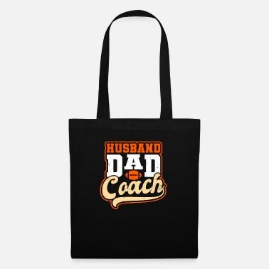 Football Dad Husband Dad Coach Gift - Tote Bag