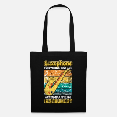 Wind Saxophone musician saxophonist - Tote Bag