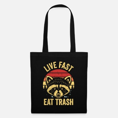 Trash Raccoon Trash Panda Garbage Eating Robber Mask - Sac en tissu