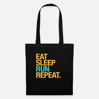 For runners: Eat, Sleep, Run, Repeat - Tote Bag