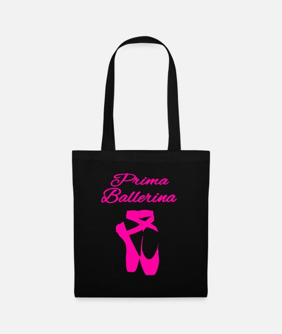 Modern Dance Bags & Backpacks - Prima Ballerina - Tote Bag black