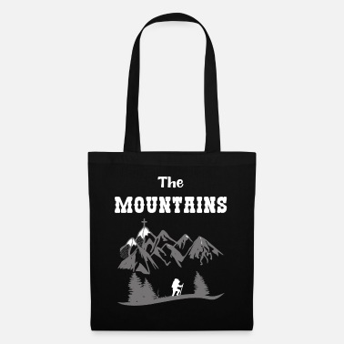 The Mountains Hiking Gifts Shirt - Tote Bag