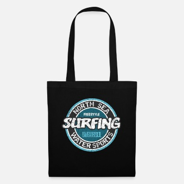 North Sea North Sea Surfing (oldstyle) - Tote Bag