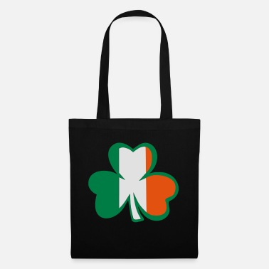 Best Awesome Superb Cool Amazing Identity Ethnicity Race People Language Country Design ♥ټ☘Kiss the Irish Shamrock to Get Lucky☘ټ♥ - Tote Bag