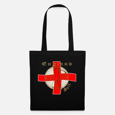 Cotton England_St_George_golf_crest - Tote Bag