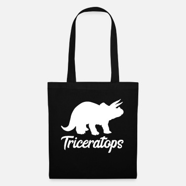 Tricep Triceratops Triceps Dinosaur Gift Dino - Tote Bag