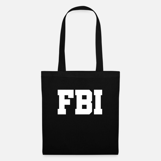 Fbi Bags & Backpacks - Federal Bureau of Investigation - US Federal Bureau of Investigation - Tote Bag black
