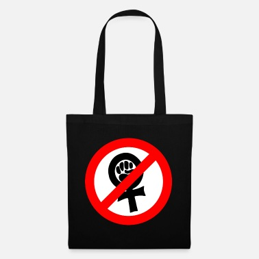Anti Nazis Anti feminist against Nazis - Tote Bag