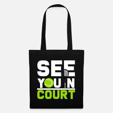 Court tennis court - Tote Bag