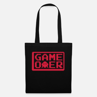 End gaming_game_over_1_f1 - Tote Bag