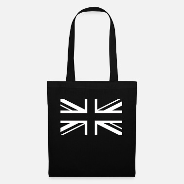Jack England Flag Union Jack Black White - Tote Bag