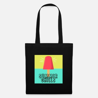 Summer Weather Ice summer weather licking gift idea gift - Tote Bag