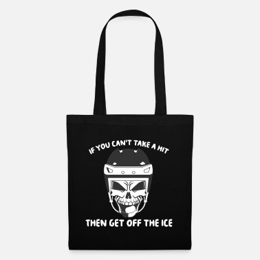 Ice Hockey Mask Ice Hockey Ice Hockey Mask Hockey Ice Hockey Helmet - Tote Bag