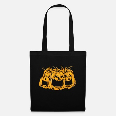 Halloween pumpkin scary - Tote Bag