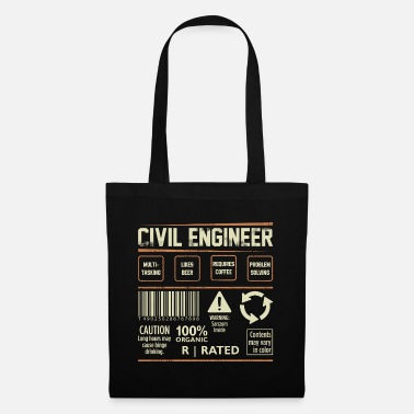 Engineering Occupation Civil Engineering Cool gift - Tote Bag