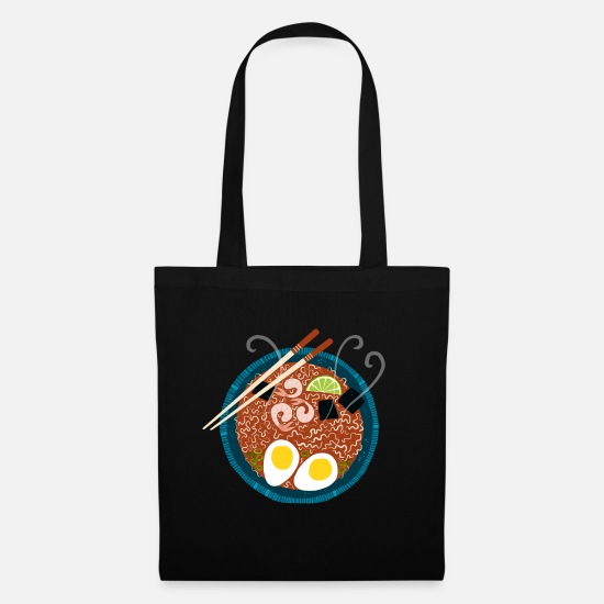 Lunch Bags & Backpacks - Ramen Noodles for Lunch - Tote Bag black