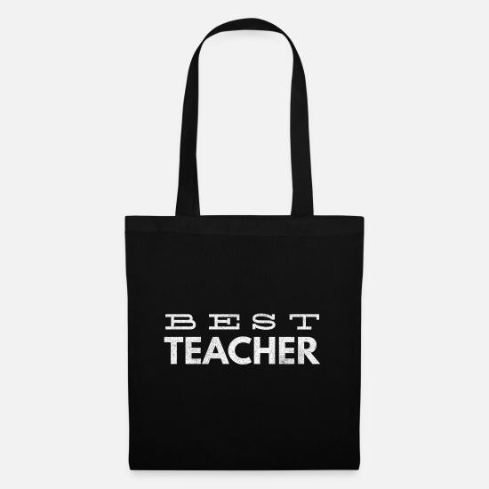 Professor Bags & Backpacks - Teacher Teacher Teacher School Professor Geeschenk - Tote Bag black