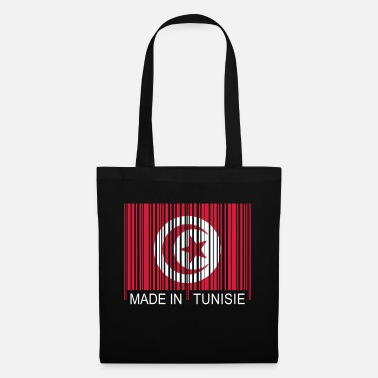 Tunisie Code barre Made in TUNISIE - Tote Bag