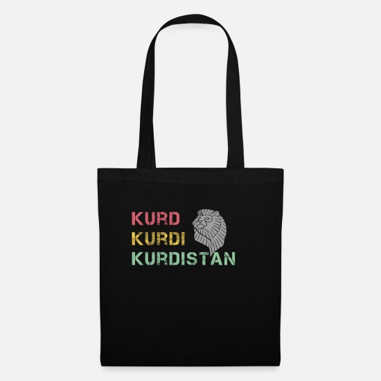 Irak Bags & Backpacks - kurd kurdi kurdistan - Tote Bag black