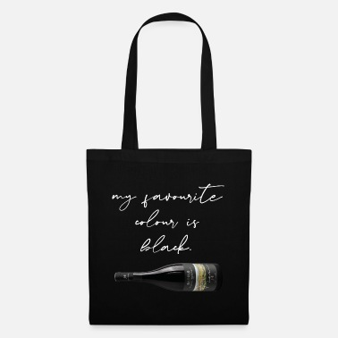 John Maiolo My favorite color is black - Tote Bag