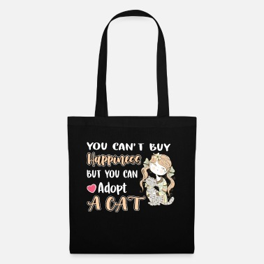 Community You Can`t Buy Happines But You Can Adop A Cat - Tote Bag