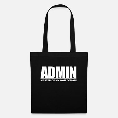 Meme ADMIN - MASTER OF MY OWN DOMAIN - Tote Bag