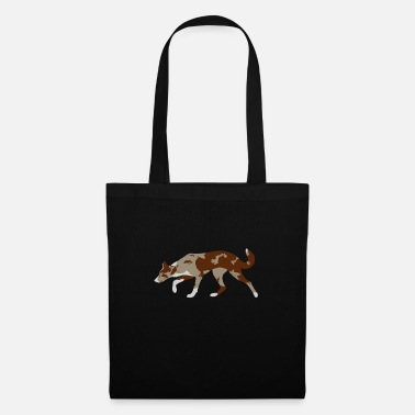 Border Collie (Red Merle and White) - Tote Bag