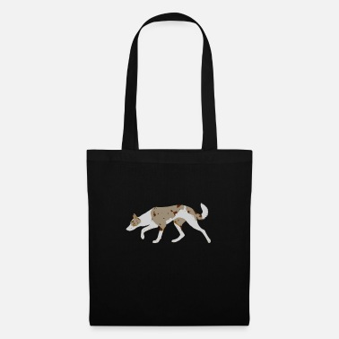 Border Collie (Red Merle Tri) - Tote Bag