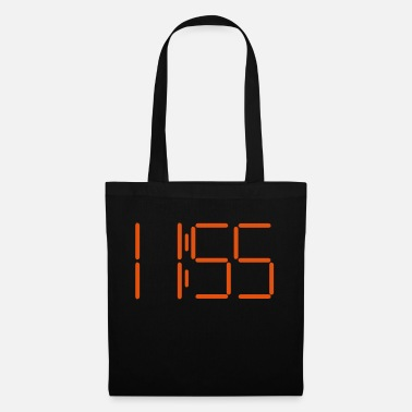11 55 Digital clock 11:55 - Tote Bag
