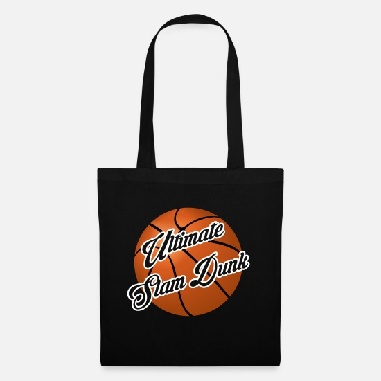 Gift Idea Bags & Backpacks - Ultimate Slam Dunk Basketball - Tote Bag black
