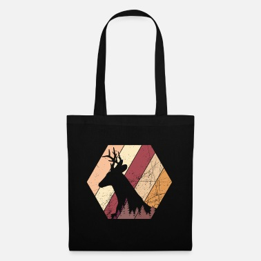 Red Deer Deer red deer autumn - design - Tote Bag