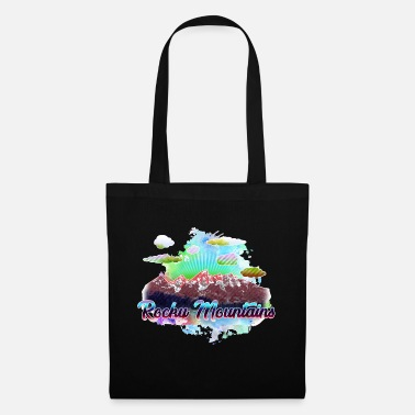 Mountains Rocky Mountains 3 y - Tote Bag