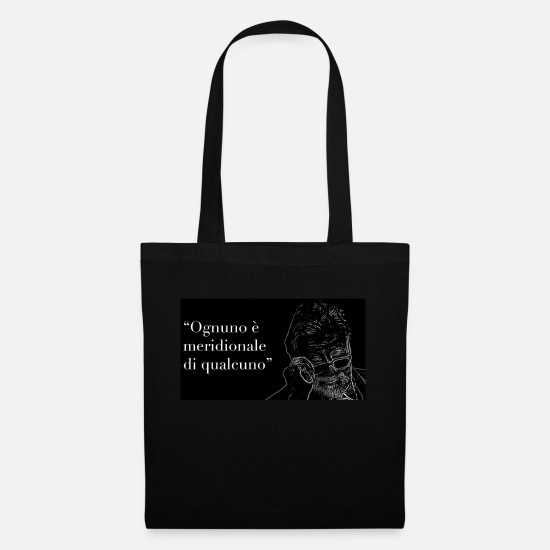 Literature Bags & Backpacks - Luciano De Crescenzo - Tote Bag black
