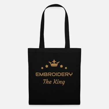 Stitch Embroidery Stickerei Broderie Embroiderer Brodeuse - Tote Bag