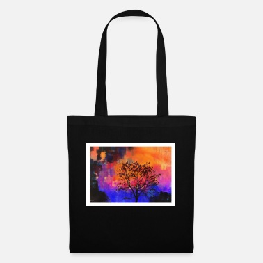 Evening Evening Tree - Tote Bag