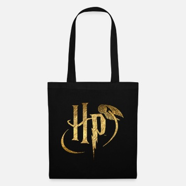 Logo Harry Potter Or - Sac en tissu